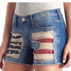 Rock & Republic distressed denim shorts